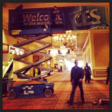 Photo Credit: Vegas is Getting Ready for CES! by Betsy Weber