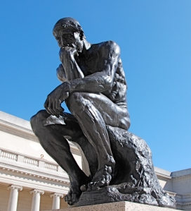 Photo Credit: The Thinker by gosheshe